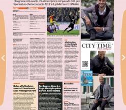 CITY TIME colonna Gazzetta 26 Novembre 2012
